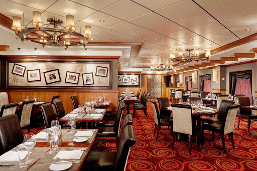Norwegian-Pride-Of-America-Dining-Cagneys-Steakhouse - Cagney's Steakhouse on  Norwegian Cruise Line's Pride of America is known for delicious Angus Beef, refreshing cocktails and special truffle fries.