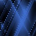 GO SMS Blue Tron Theme logo