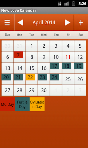 Ovulation CalculatorNCalendar