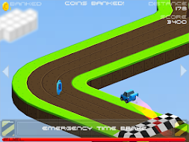 Screenshot of Cubed Rally Redline