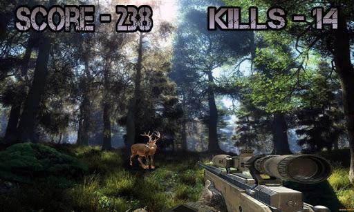 jungle hunting shooting deer