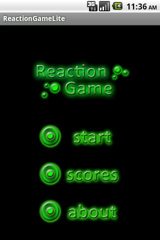 Reaction Game Lite- screenshot