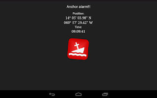 Screenshot of Anchor Watch