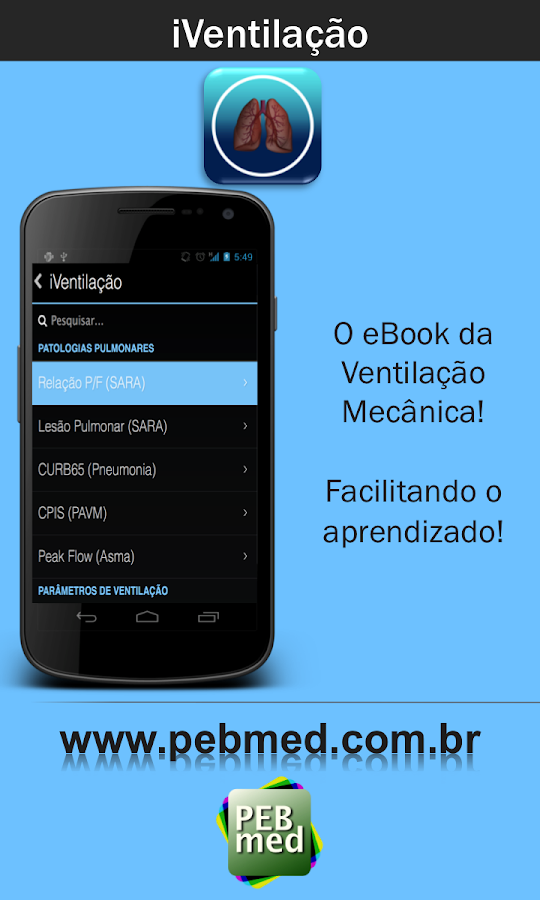 iVentilação - screenshot