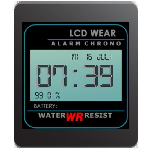 Retro LCD Wear Watchface