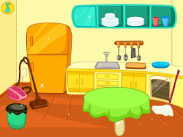Screenshot of Clean Up My Messy Kitchen