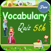 Vocabulary Quiz 5th Grade