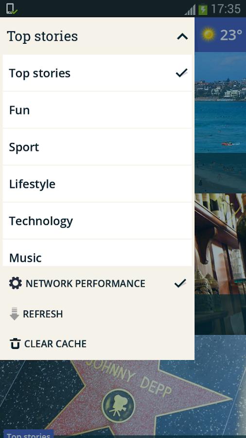 Optus Now - screenshot