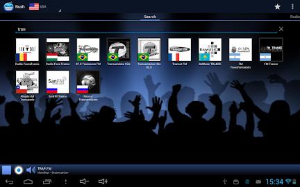 RUSH online radio and TV Screenshot 8