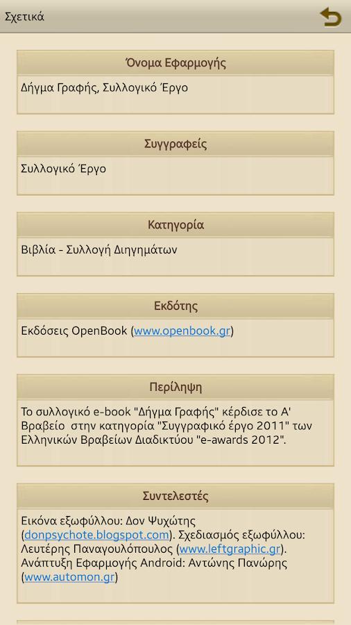 Δήγμα Γραφής, Συλλογικό Έργο - screenshot
