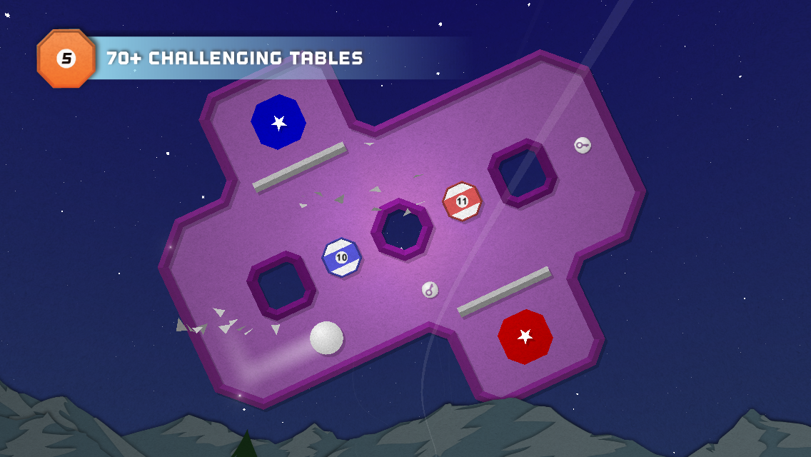 Super Paper Pool - screenshot