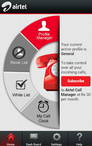 Airtel Call Manager
