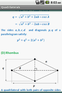 Geometry Formulas (Free) - screenshot thumbnail
