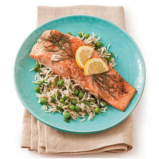 Roasted Salmon with Lemon and Dill Recipe