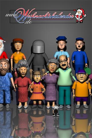 Weihnachtskalender 2011- screenshot