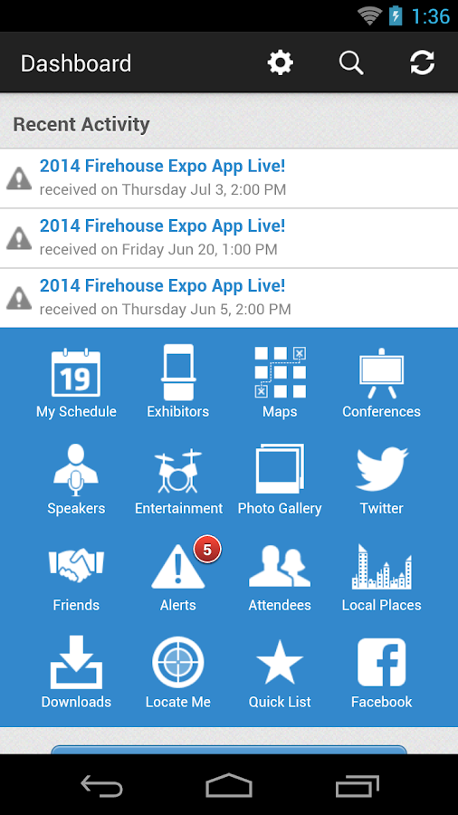 Firehouse Expo - screenshot