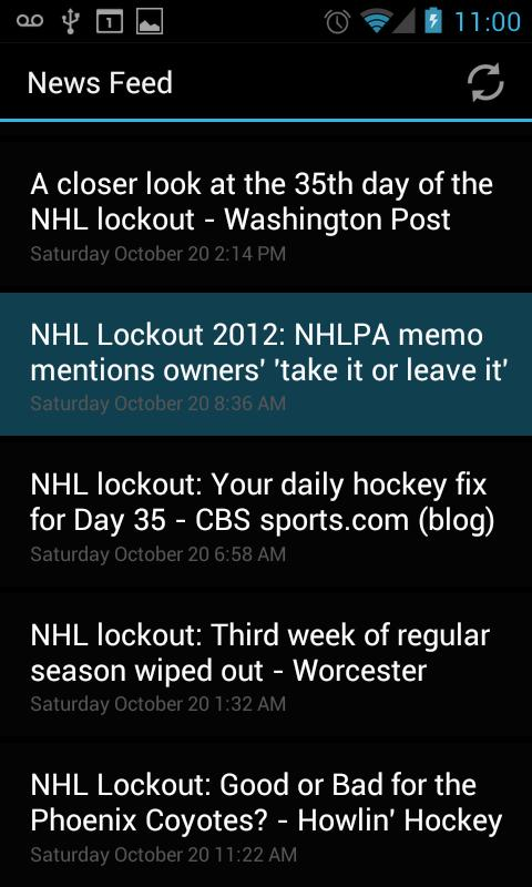 NHL Lockout - screenshot