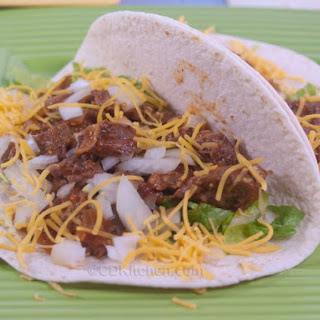 Slow Cooker Shredded Beef Soft Tacos