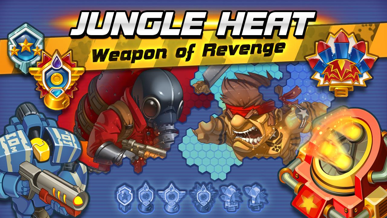Jungle Heat: War of Clans- screenshot