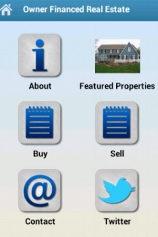 Owner Financed Real Estate - screenshot