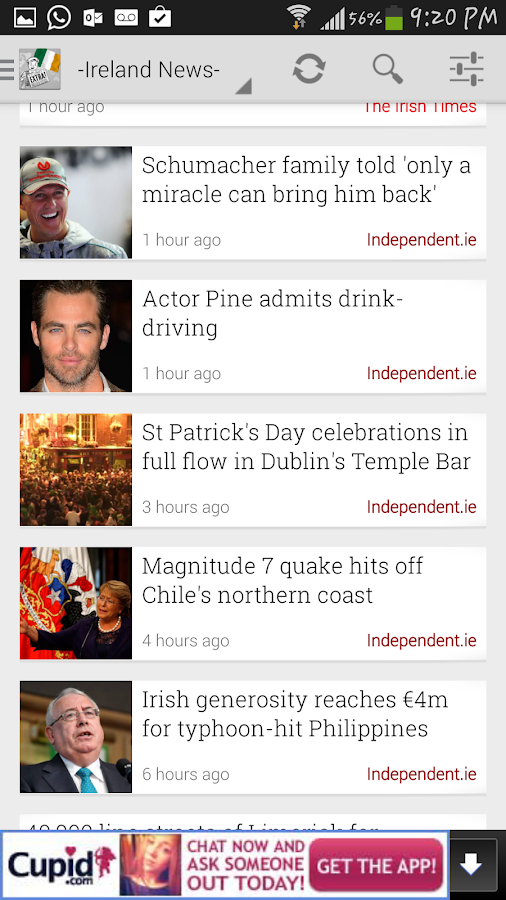 Ireland News - screenshot