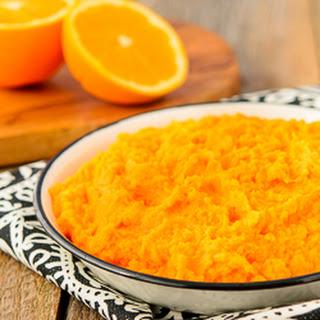 Ginger Orange Sweet Potatoes.