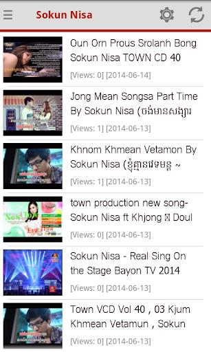 Khmer Songs Sokun Nisa