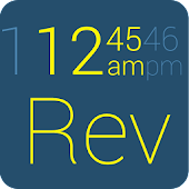 Gear Fit Revolution Clock