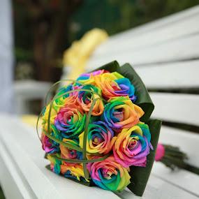 BOUQUET BRIDE by Daniel Budau - Flowers Flower Arangements ( bouquet, wedding day, bride, flower )