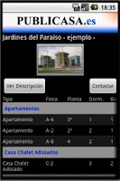 Screenshot of PUBLICASA.es | Real Estate