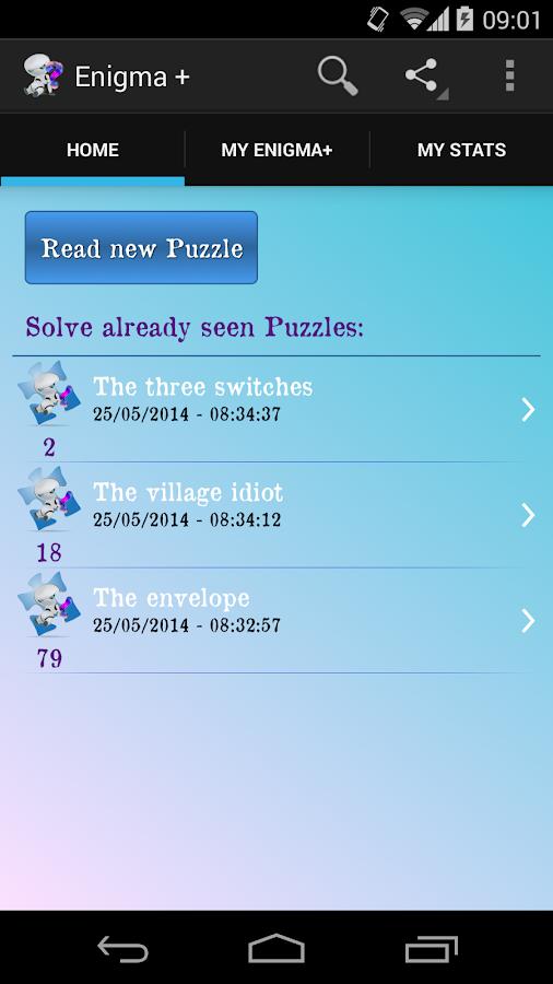 Enigma +: Brain teasers - screenshot