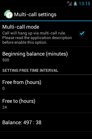 Call-Timer- screenshot