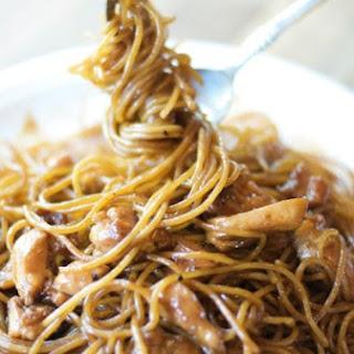Chinese Chicken & Broccoli Lo mein