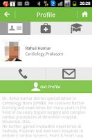 Screenshot of Doctrz for Doctors