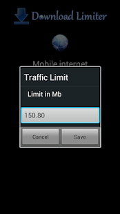 3G Download Limiter- screenshot thumbnail
