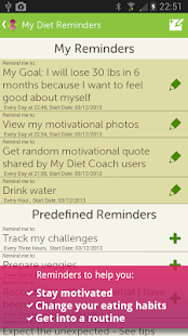 My Diet Coach - Pro- screenshot thumbnail