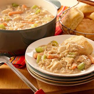 Creamy Chicken Stew.