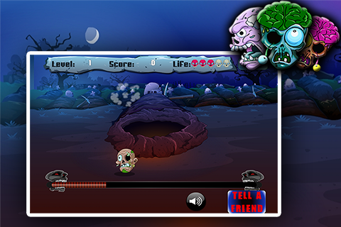 Hunt the odd zombie - screenshot