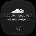 Black Ribbon Zooper Widget icon
