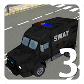 Police Car Swat Rampage 3