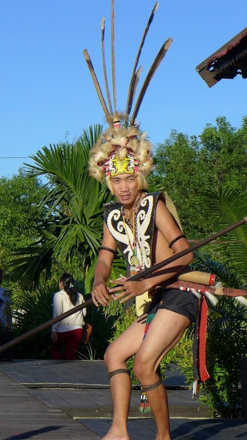 Dayak traditional hat by Nayana Maruta - People Musicians & Entertainers ( fashion, tarakan, dresses, potret, traditional, man, dancer, east kalimantan, hat, dayak,  )