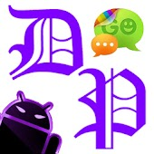 GOSMS DeepPurple Theme - Free