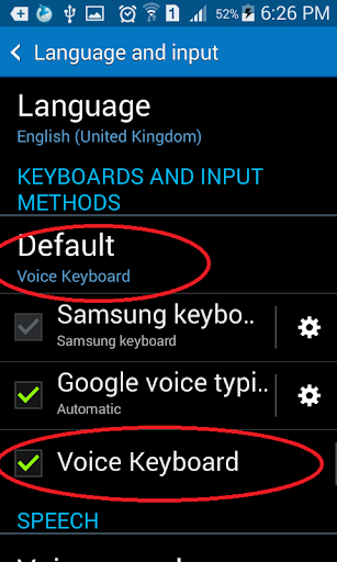 Voice Keyboard