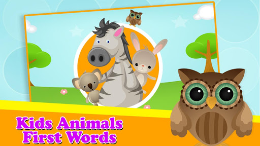 孩子们第一次动物单词
