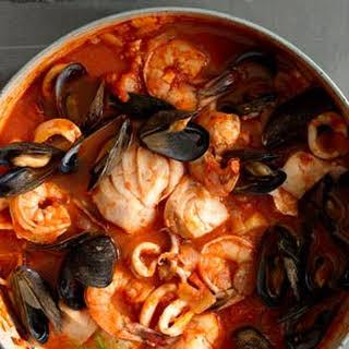 Cioppino (San Francisco style fish stew).