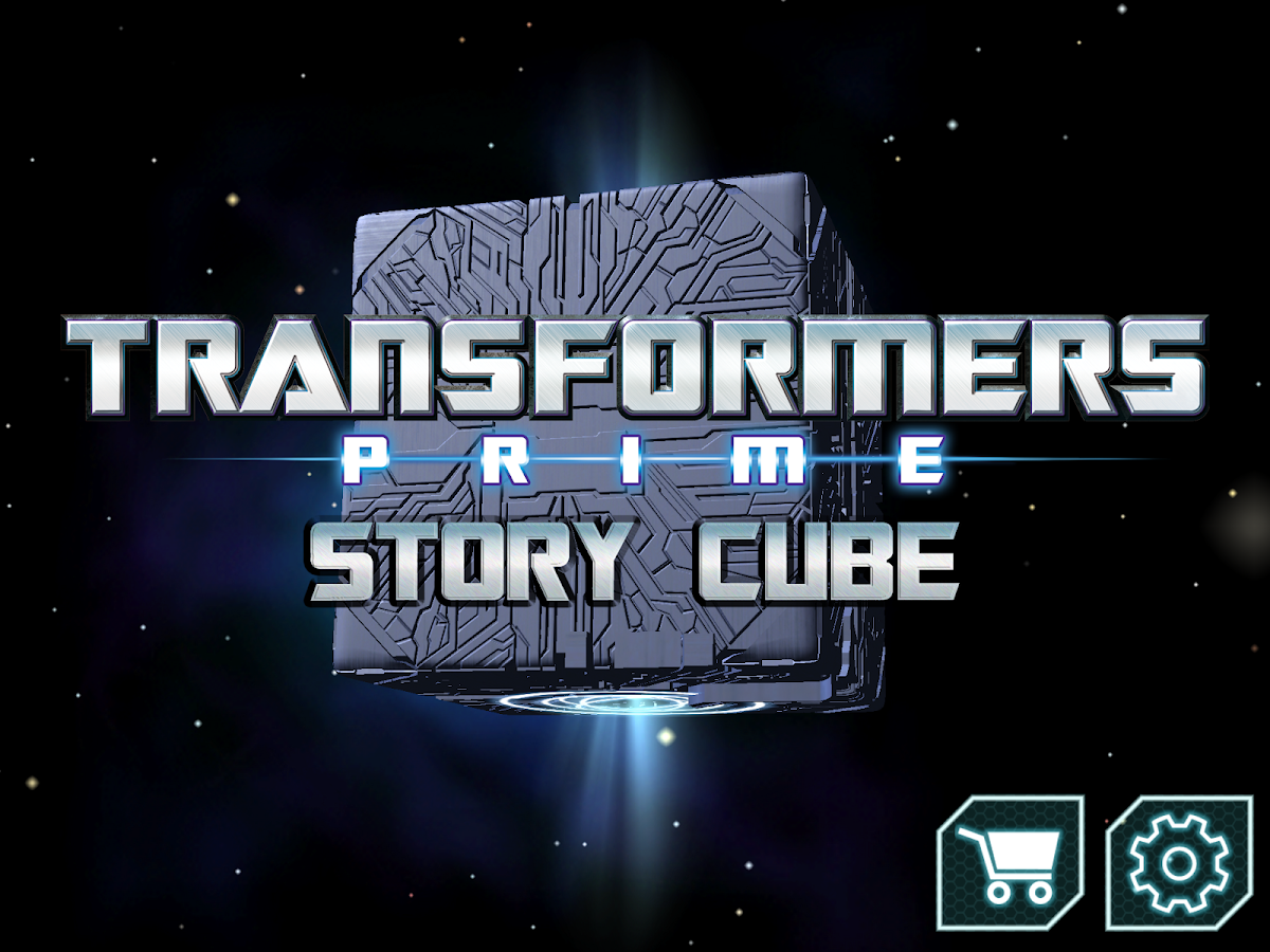 Transformers Prime Story Cube - screenshot