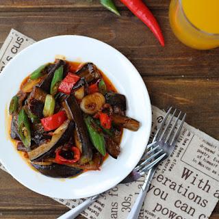 Sichuan Eggplant—Fish Flavor Eggplant