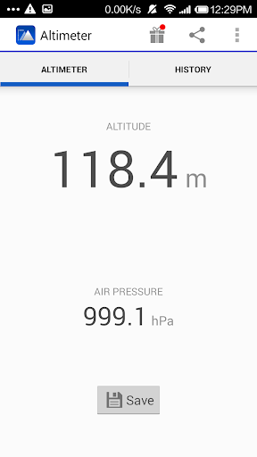Real Time Altimeter