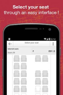 Book Bus Tickets - redBus.in - screenshot thumbnail