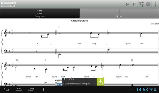 【免費音樂App】musicSheet (FREE)-APP點子